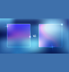 isolated of versus screen vector image