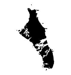 Map bahamas vector