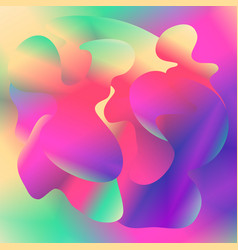 multicolor abstract gradient background vector image