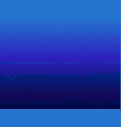 Underwater current vector
