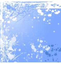 winter windowpane vector image
