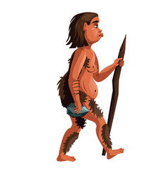 Woman evolution cartoon vector