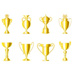 award cups vector image