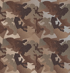 Camouflage pattern background clothing print vector