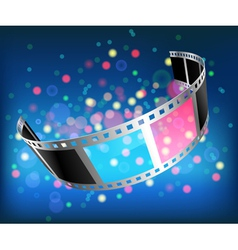 film 3D vector image vector image
