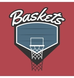 Basketball Team Logo vector image vector image