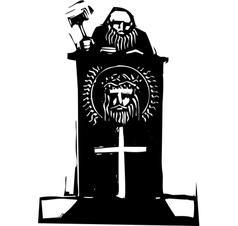 Religious Judge vector image vector image