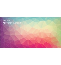 Abstract triangle backgound for web Art backgound vector