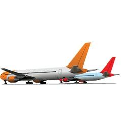 Aeroplanes vector