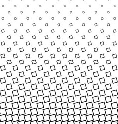 Black and white angular square pattern design vector image