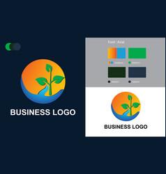 Business logo design free templates vector