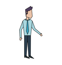 Businessman avatar icon image vector
