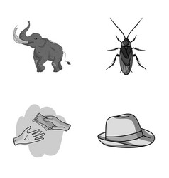 education finance and other monochrome icon in vector image