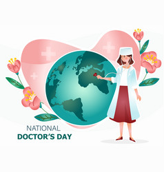 International doctor s day vector