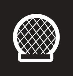 style black and white icon building dubai vector image