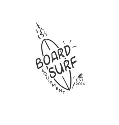 Surf logo vector