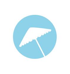 Umbrella equipment picnic image vector