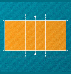 Volleyball court wallpaper vector
