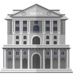 bank of england london isolated vector image