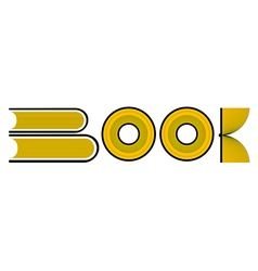 Book Typography vector image
