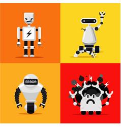 Broken mad robots set bad errors and hacking vector