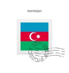 Azerbaijan postage stamp vector