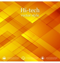 Bright abstract geometric tech background vector
