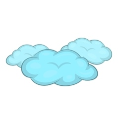 Clouds icon cartoon style vector image