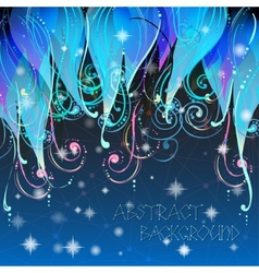 Fairy tale elegant abstract background in with vector image