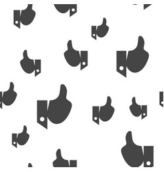 Like seamless pattern vector