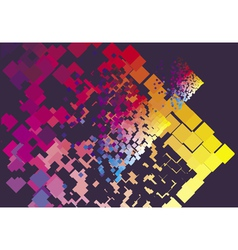 modern square explosion vector image