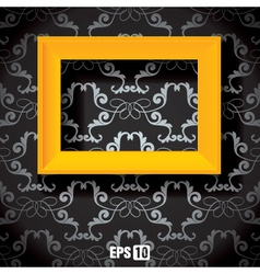 wall picture frame vector image