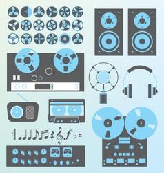 Retro Recording vector image
