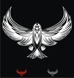 White Eagle Bird vector image vector image