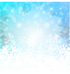 abstract winter background christmas empty vector image