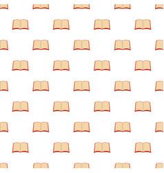 book university pattern seamless vector image