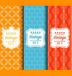 bright seamless color pattern made vector image