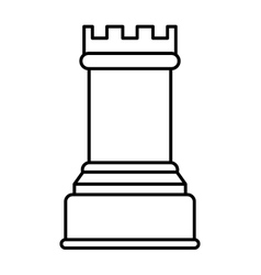 Chess icon Game design graphic vector image vector image