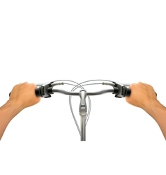 Handlebar Hand Composition vector