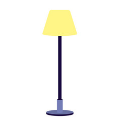 Lamp icon cartoon vector