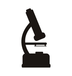 Microscope tool icon vector