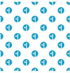 turn arrow pattern seamless vector image