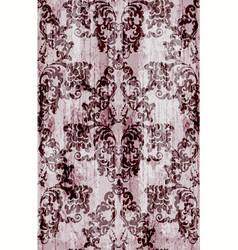 vintage baroque pattern luxury ornament vector image