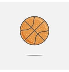 Colorful Basketball Ball vector image vector image