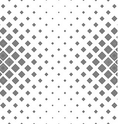 Black white abstract concentric square pattern vector image vector image