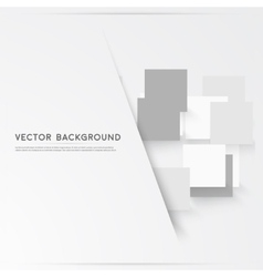 Background abstract squares vector