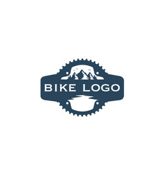 bike-logo vector image