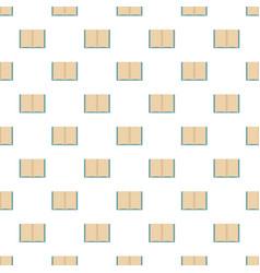 Book novel pattern seamless vector