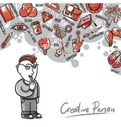 Creative Process vector