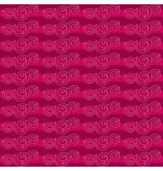 Decorative lines seamless pattern vector image